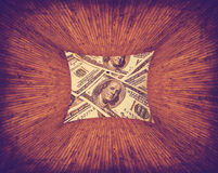 Dollars texture Stock Photo