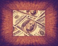 Dollars texture Stock Images