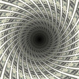 Dollars tunnel Royalty Free Stock Photo