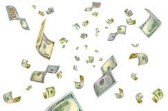 Dollars uit dunne lucht Stock Foto's