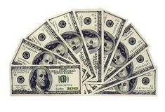 Dollars US Image libre de droits