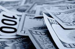 Dollars US d'argent liquide Photographie stock libre de droits