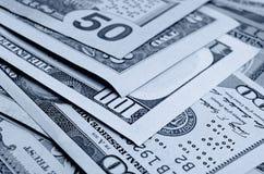 Dollars US d'argent liquide Image stock