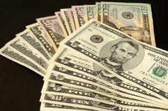 Dollars van de V.S. Royalty-vrije Stock Foto's