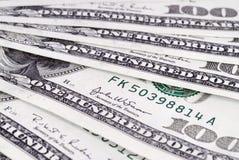 Dollars van de V.S. achtergrond-2 Stock Afbeelding