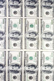 Dollars wall stock images