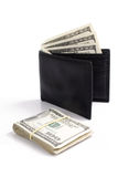 Dollars and wallet Royalty Free Stock Images