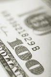 Dollarsachtergrond Stock Fotografie