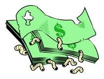 DollarsAndMaggots Stockbild