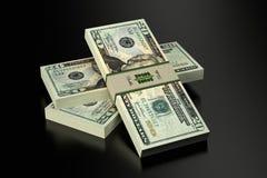 20 Dollarsbankbiljetten Royalty-vrije Stock Fotografie