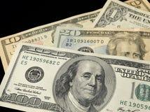 100 Dollarschein Lizenzfreies Stockbild