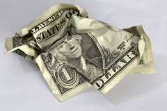 Dollarschein Stockfoto