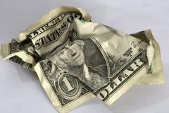Dollarschein Lizenzfreies Stockfoto