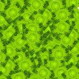 100 Dollarschein-Hintergrund stockbilder