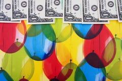 Dollarschein-Rand Stockfotos