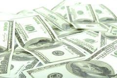 100 Dollarscheine Lizenzfreies Stockbild