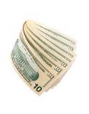 10 Dollarscheine Lizenzfreie Stockbilder
