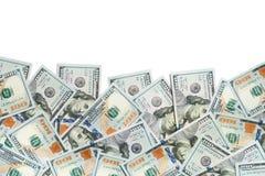 100 Dollarscheine Lizenzfreie Stockfotografie