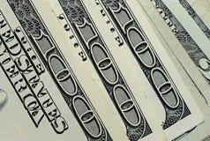 100 dollarsrekening Stock Foto's