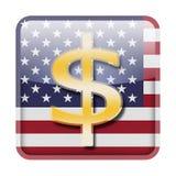 Dollarsymbol Arkivbilder