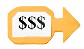 Dollarsymbole Stockfoto