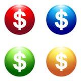 Dollarteken Royalty-vrije Stock Afbeeldingen
