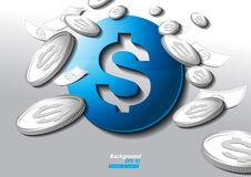 Dollarvector vector illustratie