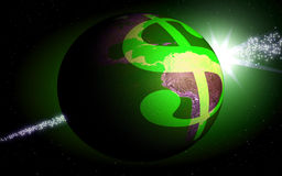 Dollarwelt Lizenzfreies Stockbild