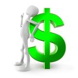 Dollarzeichen Stockbild
