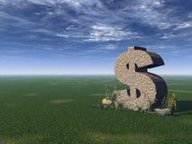 Dollarzeichen Stockfotos