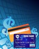 Dollarzeichen und -Kreditkarten Lizenzfreie Stockfotos