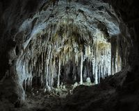 The Dollhouse - Carlsbad Caverns Stock Photo