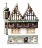 dollhouse isolerad tappning Royaltyfri Bild