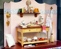 dollhouse stary Obrazy Royalty Free