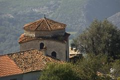 Dollma teqe, Kruja, Albania. Old islamic building in Kruja, Albania Stock Photography