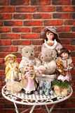 Dolls stock photography