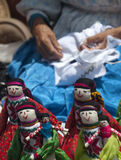 Dolls. Typical mexican dolls being on sale in Queretaro city Stock Photo