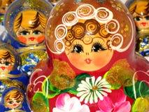 Dolls. Traditional russian nesting dolls - matryoshka royalty free stock photos