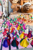 Dolls, art work , Indian handicrafts fair at Kolkata Stock Photo