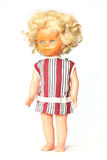 Dolls blond vintage Stock Images