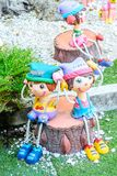 Dolls Clay Thai Art Stock Images