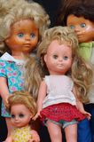 Dolls groups 3 Royalty Free Stock Photos