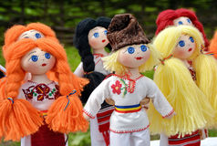 Romania Dolls Royalty Free Stock Photo