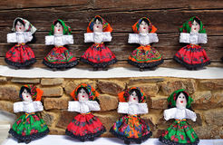 Romania Dolls Royalty Free Stock Image