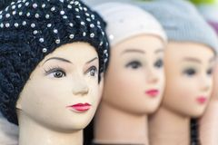 Dolls heads Royalty Free Stock Photo