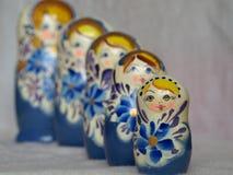 Dolls.matryoshka. Matryoshka, dolls Russian national who invested in one another Stock Photos