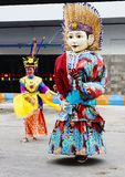 Dolls and national costume of Indonesia Stock Photos