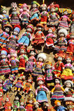 Dolls. National's dolls, in Yunnan, China Royalty Free Stock Photos