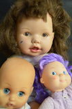 Dolls portraits Royalty Free Stock Image