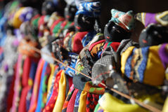 Herero dolls on sale, Damaraland, Namibia royalty free stock photography